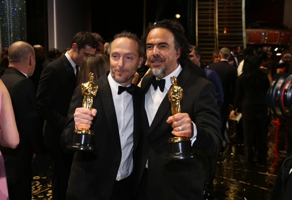 Emmanuel Lubezki y Alejandro Gonzalez Iñárritu