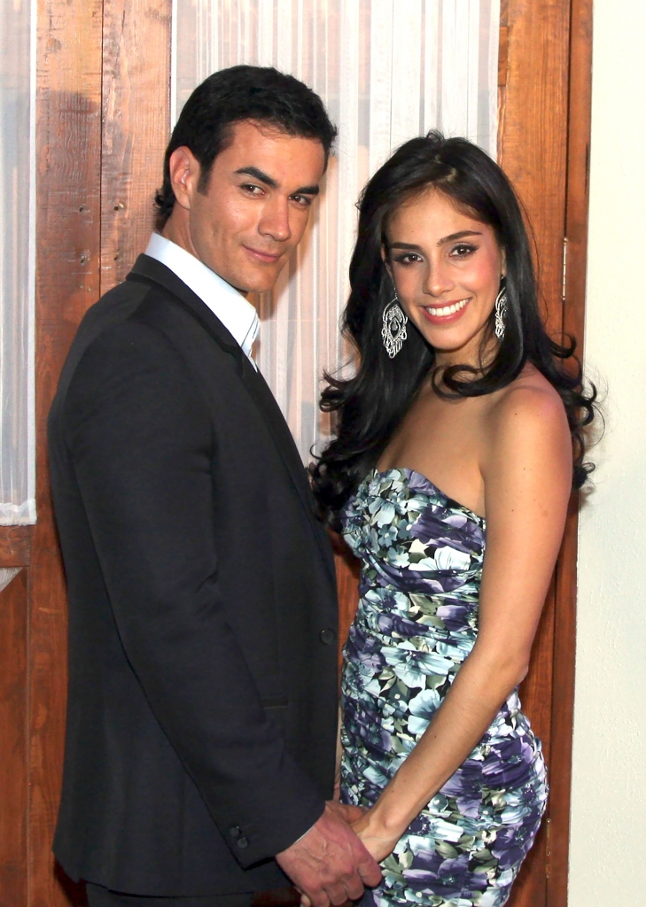 Sandra Echeverría y David Zepeda