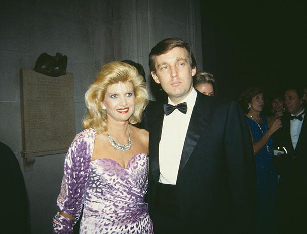 Ivana Trump, Donald J Trump