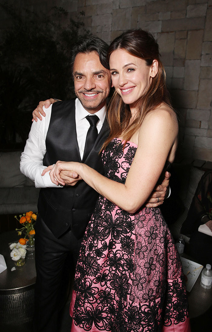 Eugenio Derbez y Jennifer Garner