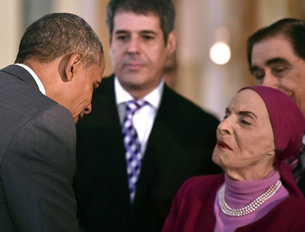 Barack Obama, Alicia Alonso