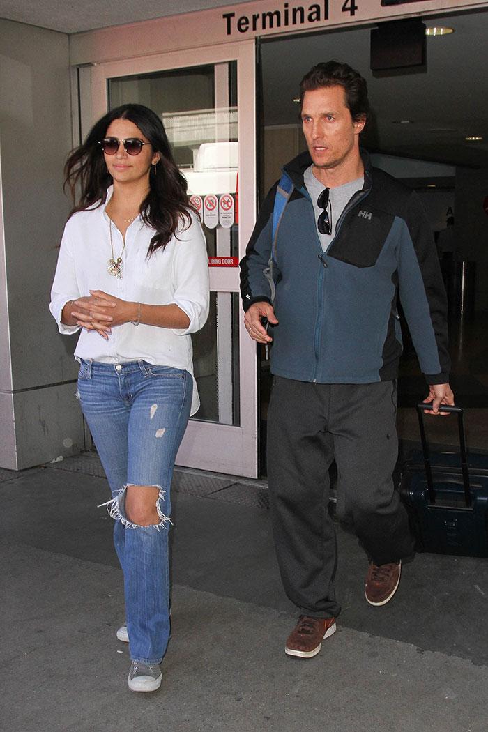 Matthew McConaughey , Camila Alves