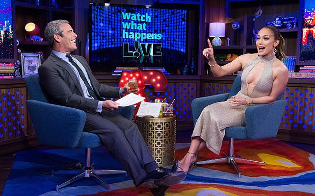 Andy Cohen y Jennifer López