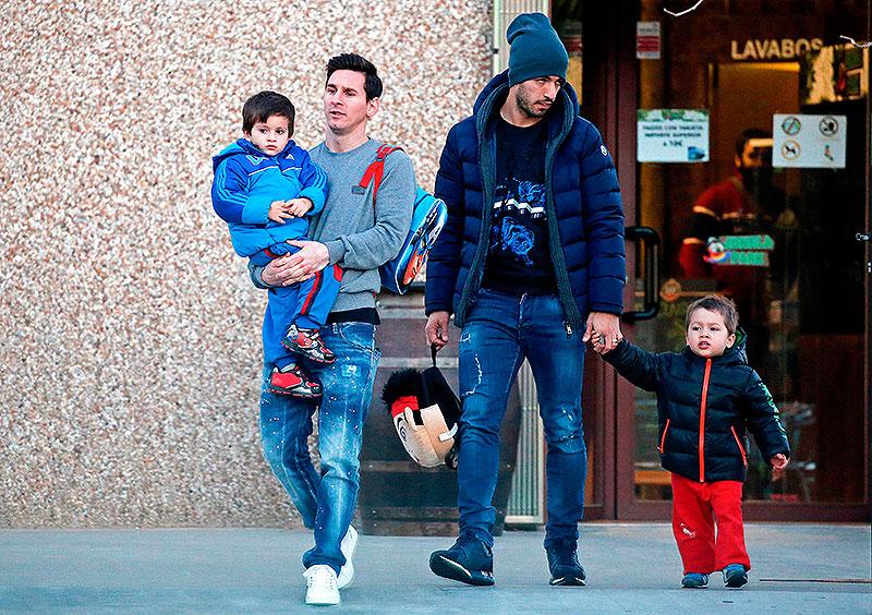 Leo Messi, Luis Suárez, Míralos