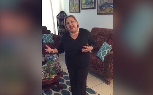 Ingrid Tejada, mamá de Lejuan James