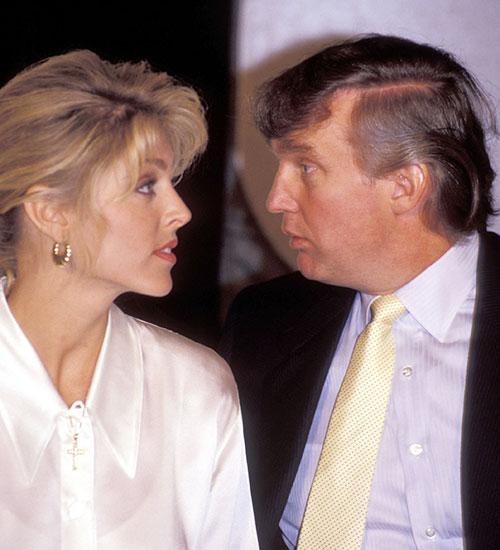 Marla Maples, Donald J. Trump