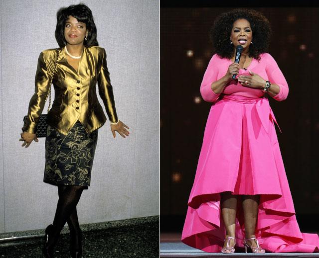 Famosos que han ganado peso, Oprah Winfrey