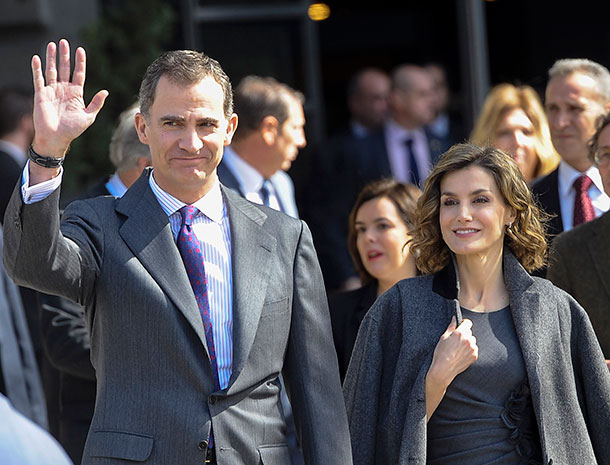 Miralos, Príncipes de Asturias, Rey Felipe II, Rena Letizia