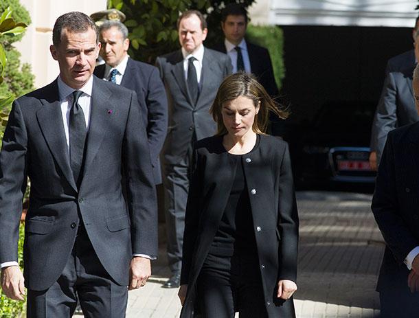 Rey Felipe de España, reina Letizia