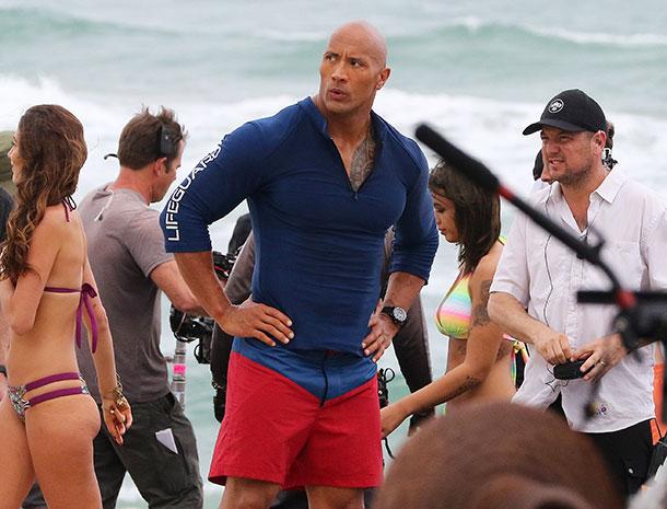 "Dwayne ""The Rock"" Johnson, the rock"