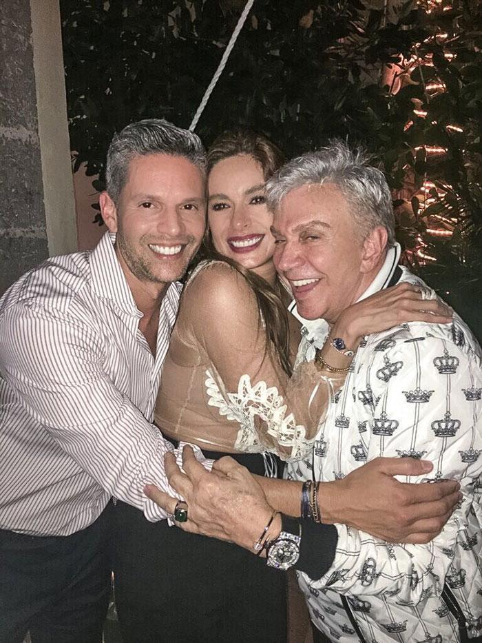 Rodner Figueroa, Galilea Montijo y Osmel Sousa