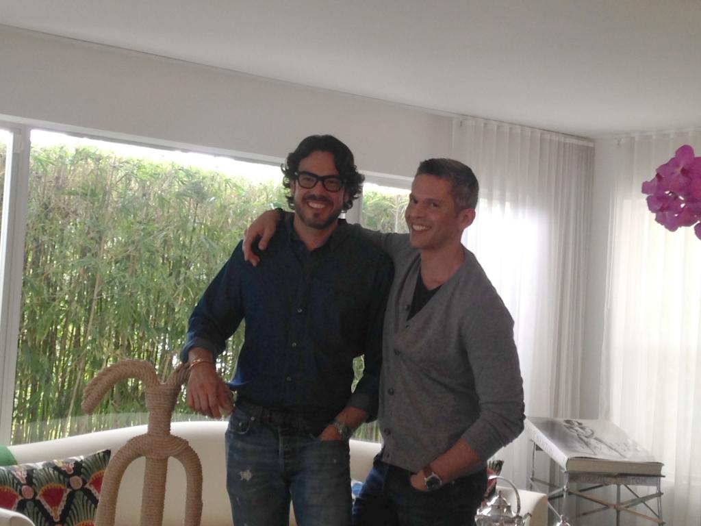 Rodner Figueroa y Ernesto Mathies