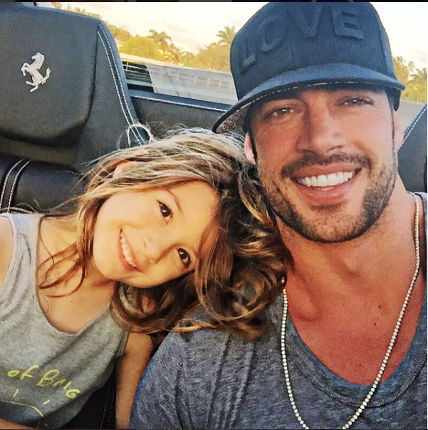 William Levy y Hija