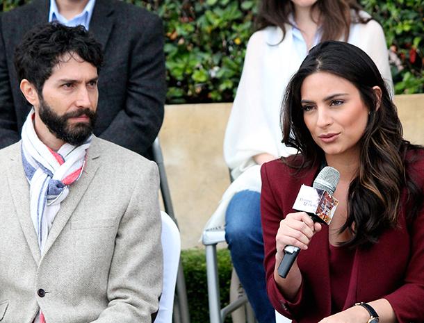 Benny Ibarra y Ana Brenda Contreras
