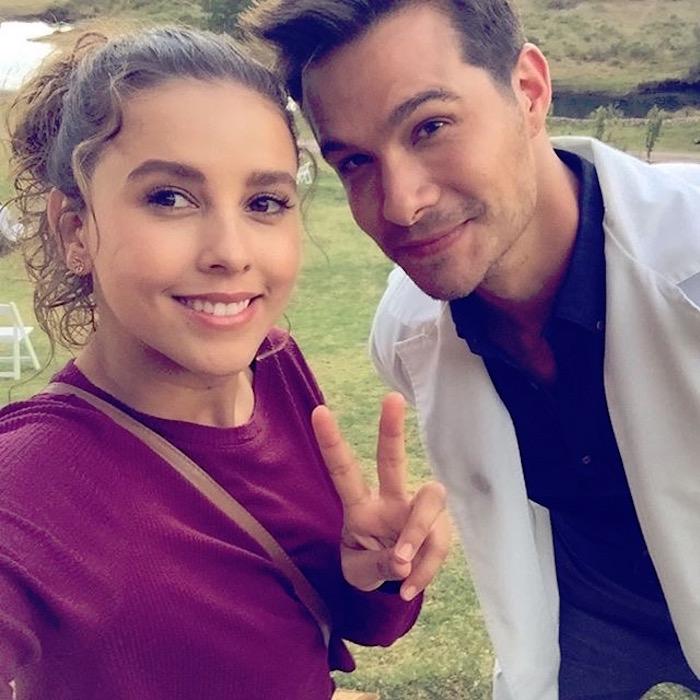 Paulina Goto y Brandon Peniche