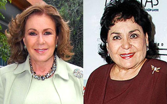 Laura Zapata y Carmen Salinas