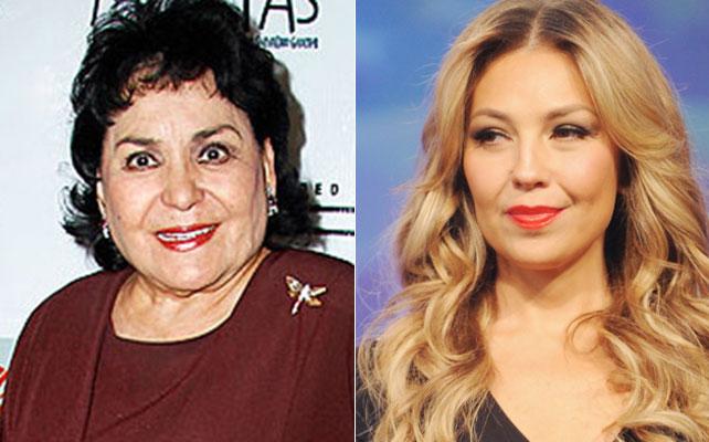 Carmen Salinas y Thalía