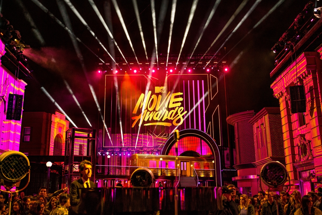 MTV Movie Awards 2016 Stage