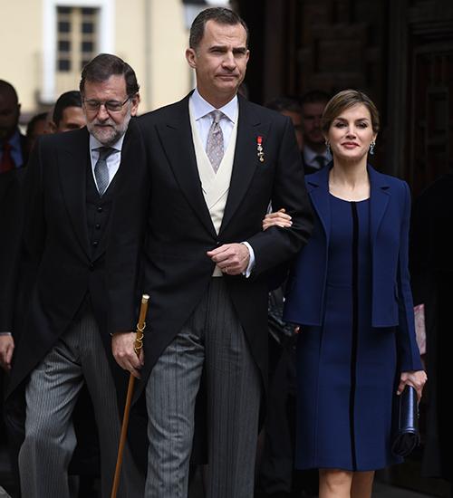 Rey Felipe y la reina Letizia