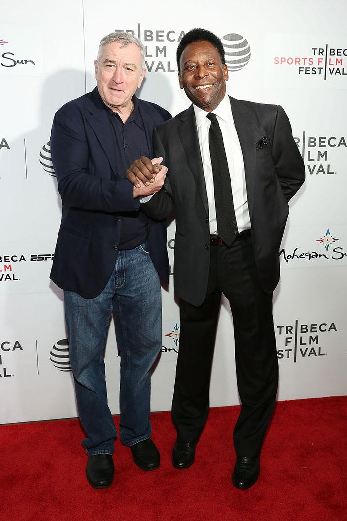 Robert De Niro, Pelé