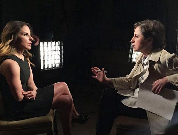 Kate del Castillo, El Chapo Guzman, Carmen Aristegui