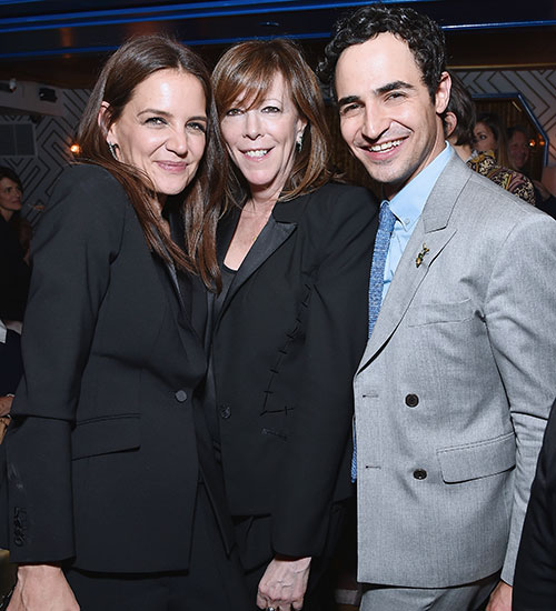 Katie Holmes, Zac Posen , Jane Rosenthal