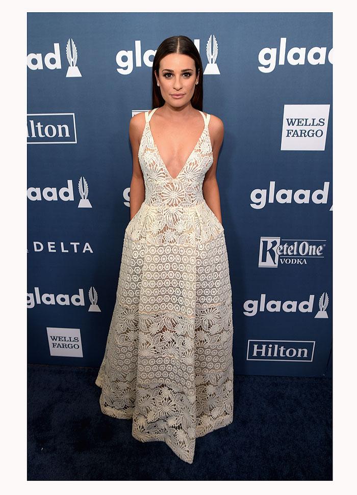 Lea Michele, look del día