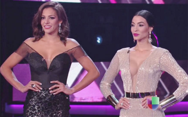 Nathalia Casco y Patricia Corcino