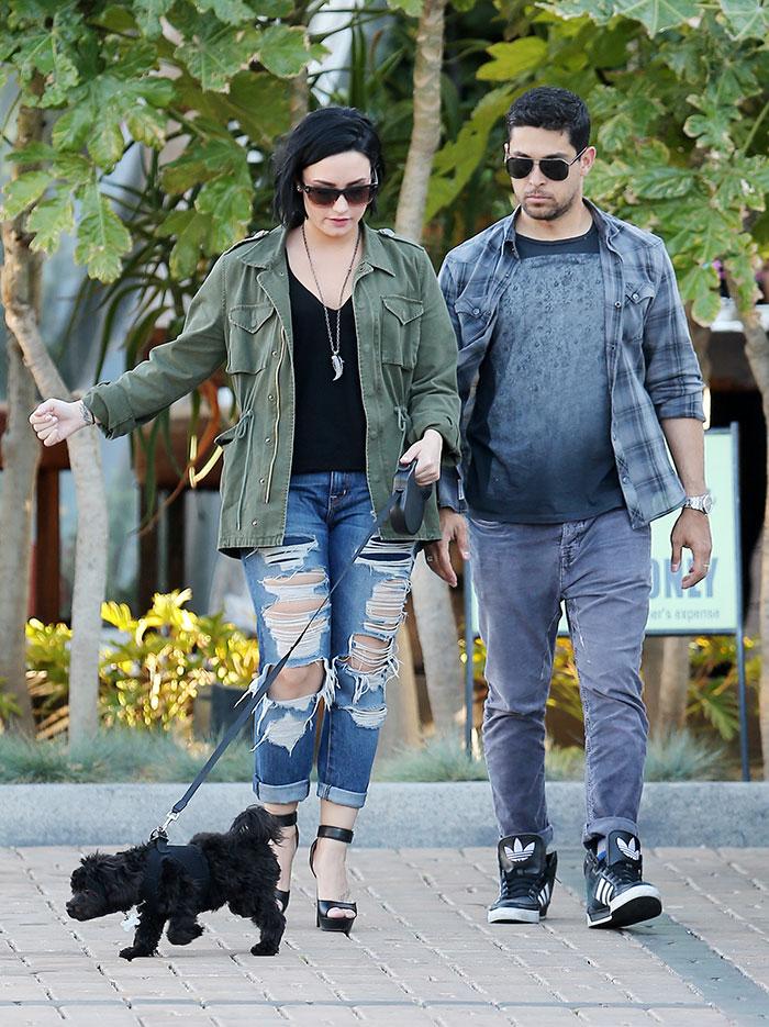Demi Lovato , Wilmer Valderrama