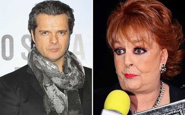 Ariel López Padilla y Talina Fernández