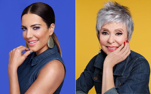Rita Moreno y Gaby Espino