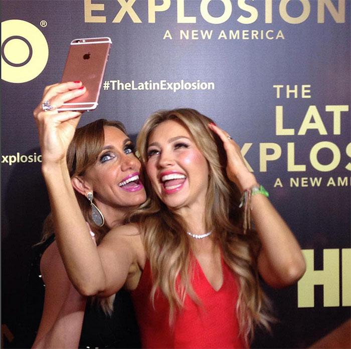 Lili Estefan y Thalía