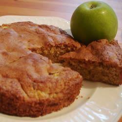 Pastel de manzana fácil