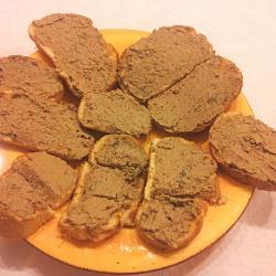 Paté de hígado toscano