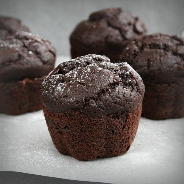 Cupcakes de chocolate sin gluten