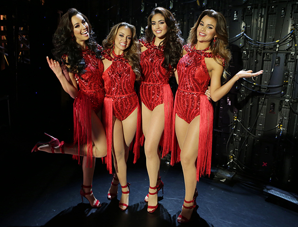 Clarissa Molina, Catherine Castro, Bárbara Turbay, Setareh Khatibi