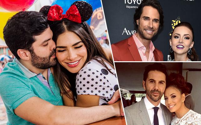 Las parejas de los 50 Más Bellos de 2016
