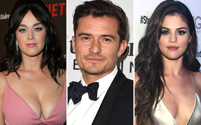Katy Perry, Orlando Bloom y Selena Gomez