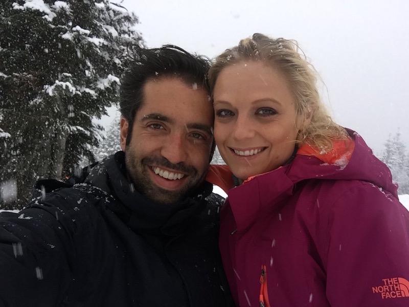 Ana Layevska y su marido Rodrigo Moreira