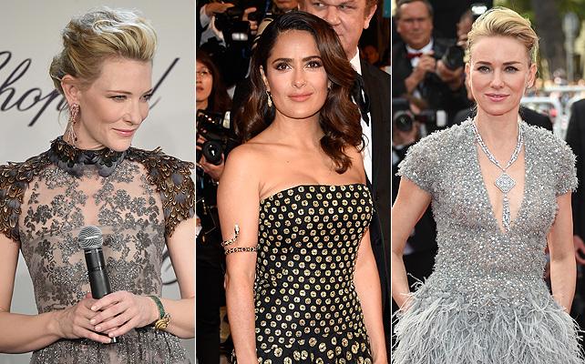 Joyas, Cannes, moda, salma hayek, cate blanchett, naomi watts