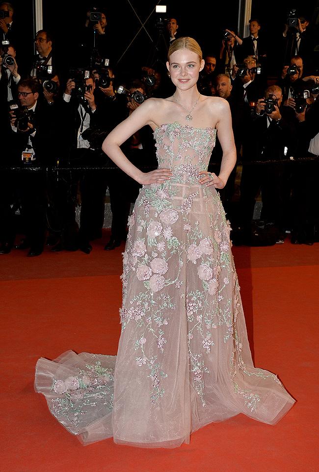Elle Fanning, Cannes