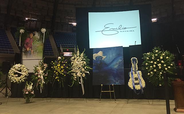 Funeral de Emilio Navaira