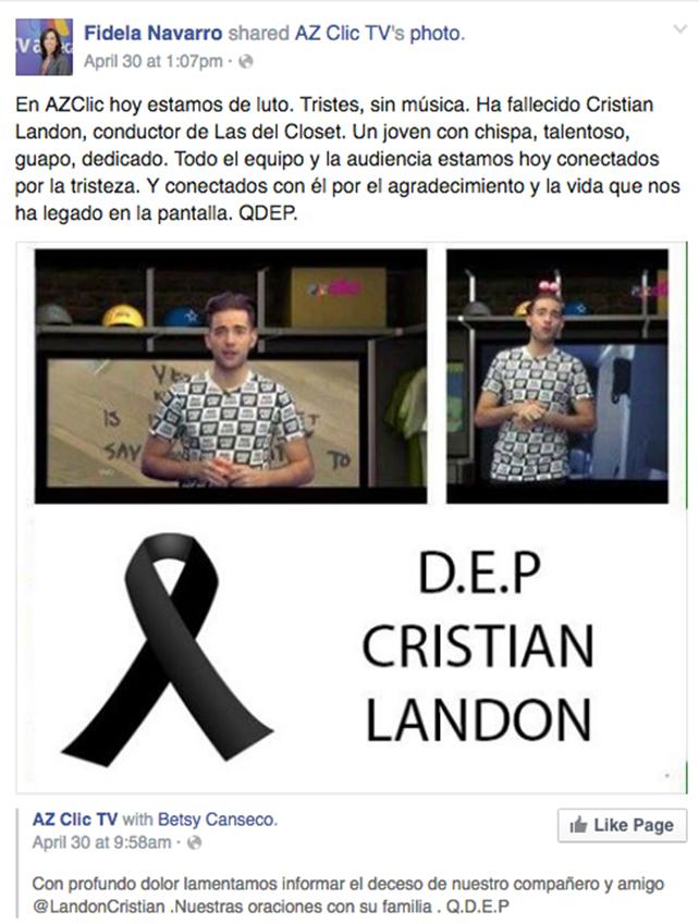 Fidela Navarro/ Facebook