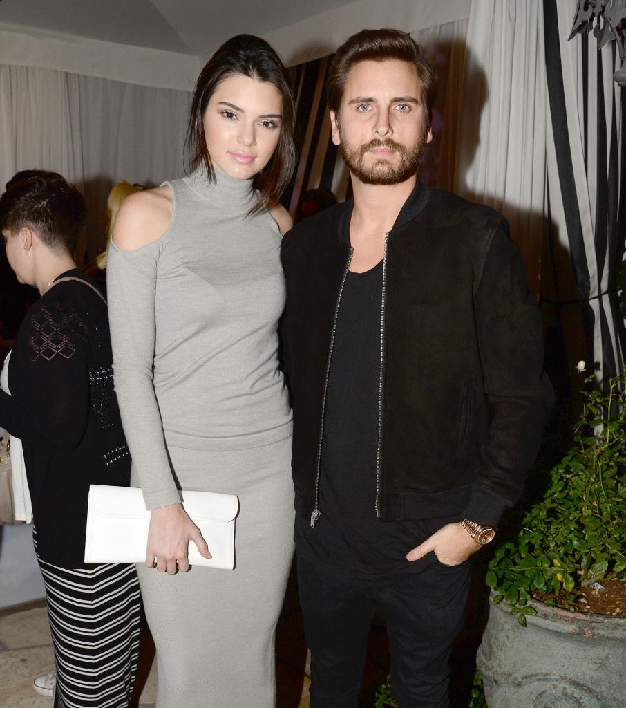 Kendall Jenner y Scott Disick
