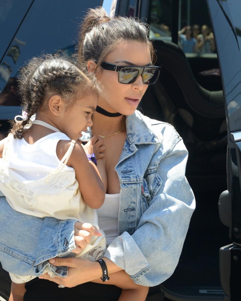 Kim Kardashian West y su hija North West