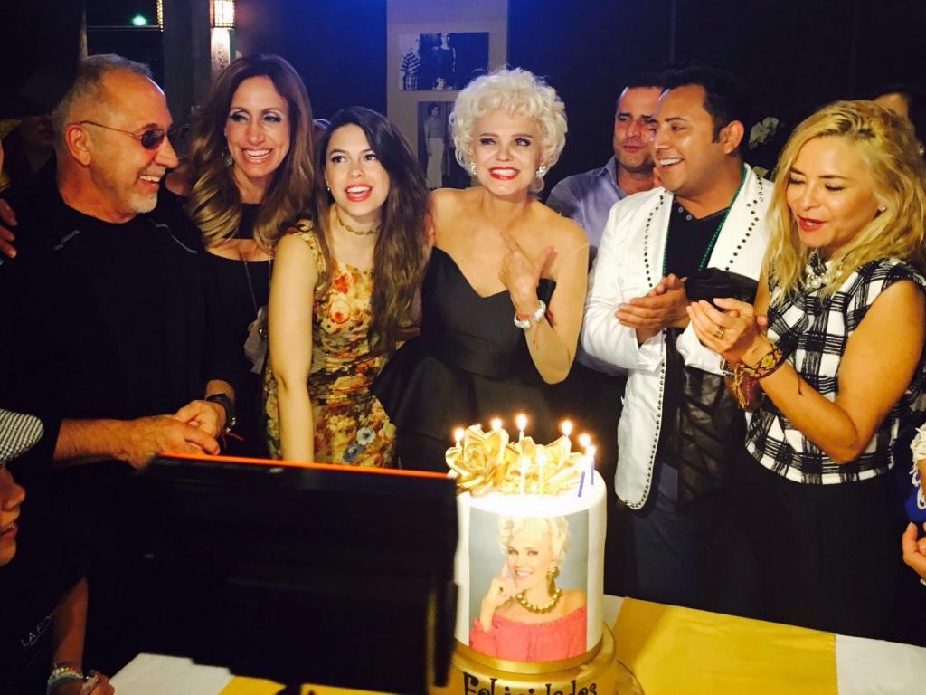 Charytín Goyco celebra su cumpleaños