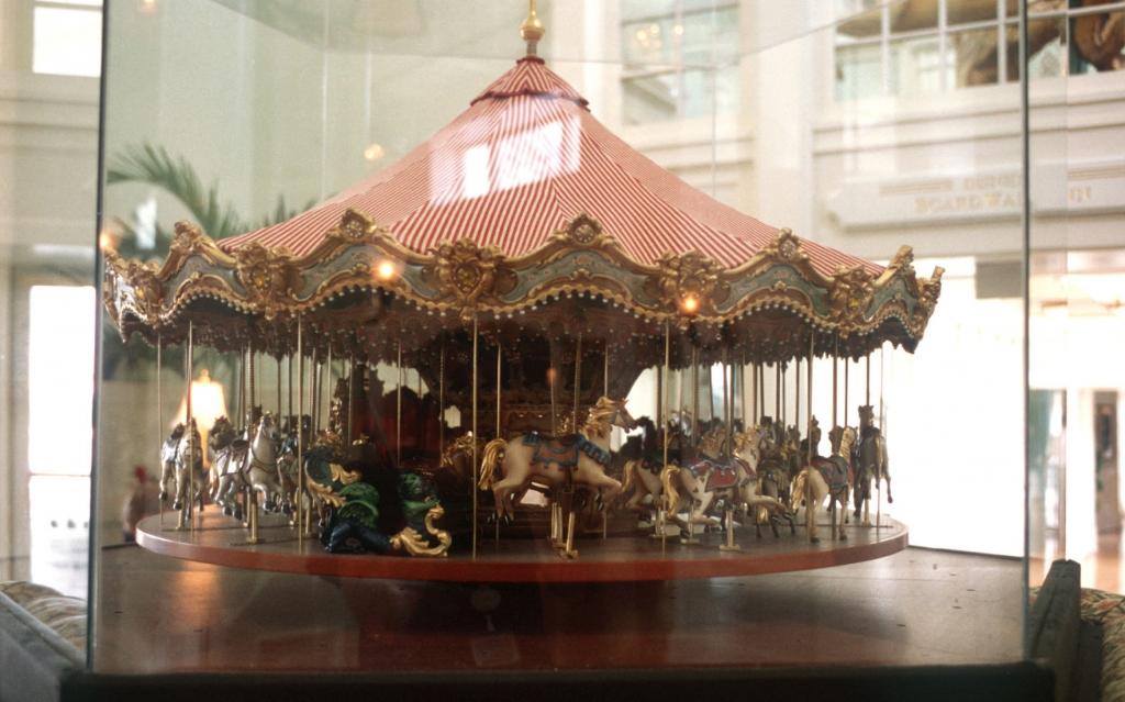 Carrusel en Disney's BoardWalk Inn