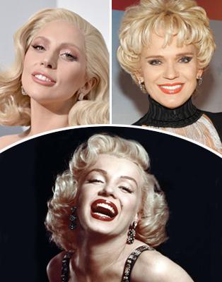 Marilyn Monroe, Charytin y Lady Gaga
