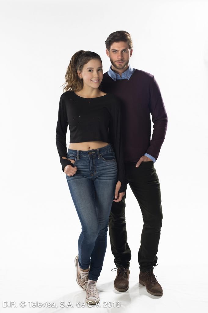 Paulina Goto y Horacio Pancheri