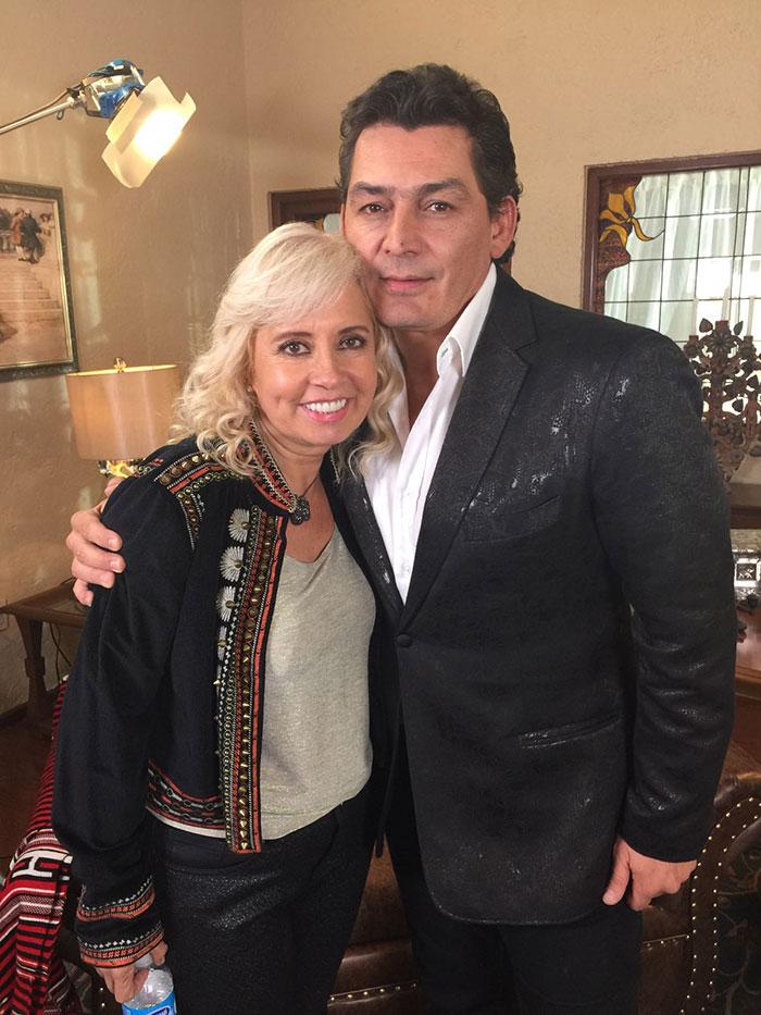 Carla Estrada, José Manuel Figueroa